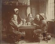 Emile FRECHON (1848-1921) Jeunes normandes