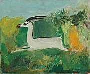 Joseph HECHT (Lodz 1891-Paris 1951) L'antilope.
