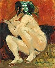 Lucien Joseph FONTANAROSA (Paris 1912-1989) Jeune