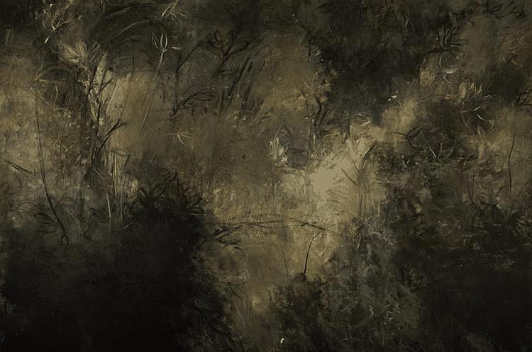 D0559-26 Abderrahim YAMOU (né en 1959) Composition, 1997 H
