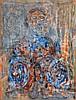 D0577-7 Ahmed BEN DRISS EL YACOUBI (1928-1985) Sans titre, Ahmed