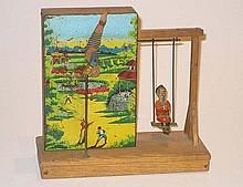 Clockwork Gymnastic stand, 20cm x 20cm