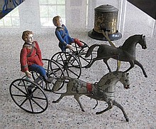 An important Althof Bergman tinplate Jubilee Trotting Course
