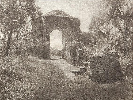 Domenico Riccardo Peretti Griva (1882-1962); Villa Adriana, ca. 1920