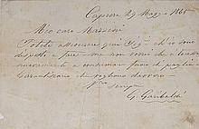 Garibaldi, Giuseppe & Giuseppe Mazzini