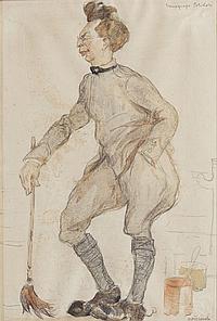 Antonio Discovolo (Bologna 1876 - Bonassola 1956)