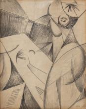 Alexander Bogomazov - L'artista, 1914