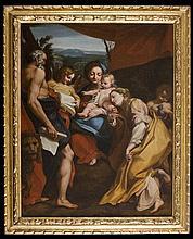 Francisco Preciado de la Vega (Siviglia 1713 - Roma 1789), da Antonio Allegri detto il Correggio La Madonna di San Girolamo (o il Giorno)