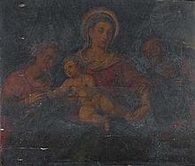 Scuola veneta, secolo XVI Matrimonio mistico di Santa Caterina