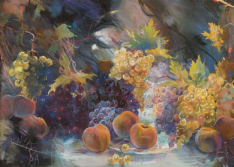Elica Balla (Roma 1914 - 1993) Fantasia di frutta estiva, 1963