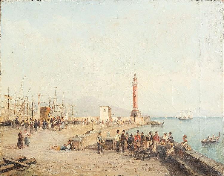 Attribuito a Pasquale Mattei (Formia 1813 - Napoli 1879)