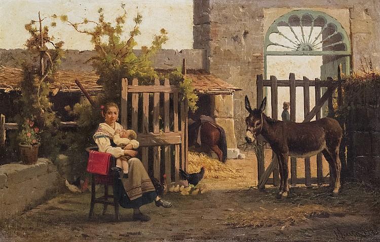 Vincenzo Scala (Napoli 1839 - dopo il 1893)