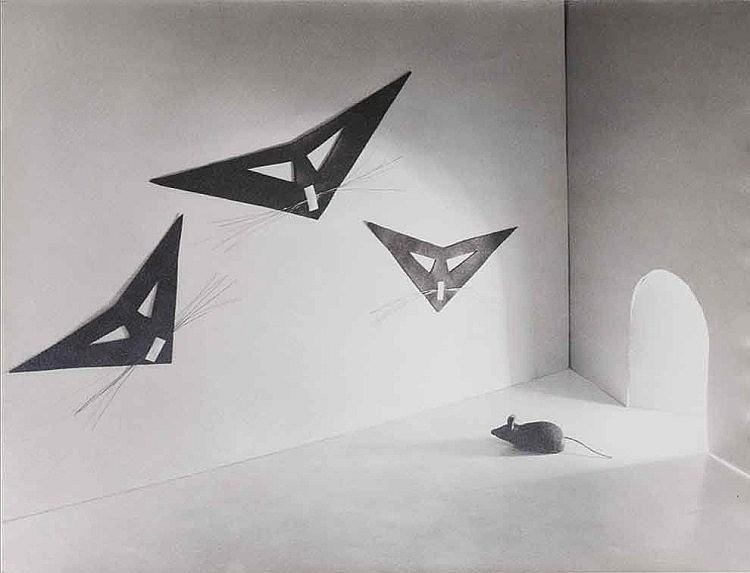 Riccardo Gilardi (1920-2013) L'incubo del topolino, ca. 1955