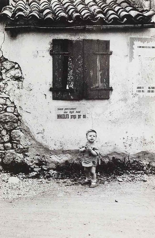 Italo Zannier (b. 1932) Friuli, ca. 1950