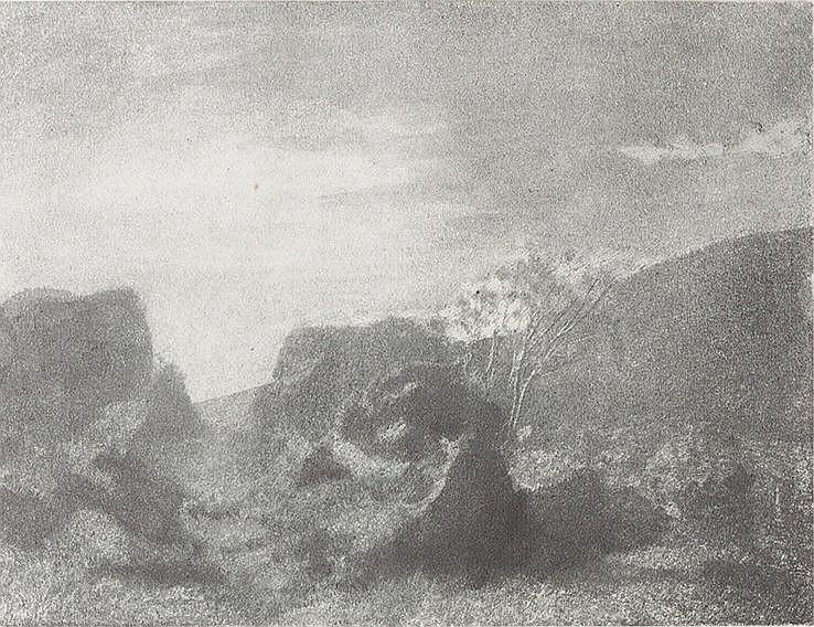 Domenico Riccardo Peretti Griva (1882-1962) Paesaggio, ca. 1930