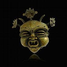 Cameroon Grasslands Bronze Face Maskronze