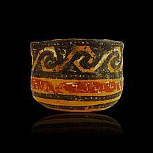 Rare Pre-columbian Mixtec Bowl