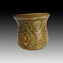 Pre-columbian Nayarit Painted Vessel