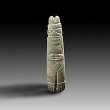 Pre-columbian Costa Rican Jade Axe god