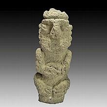 Pre-columbian Nicaragua stone figure