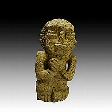 Pre-columbian Volcanic Stone Figure from Nicaragua
