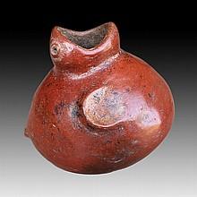 Pre-columbian Carchi Griton Vessel