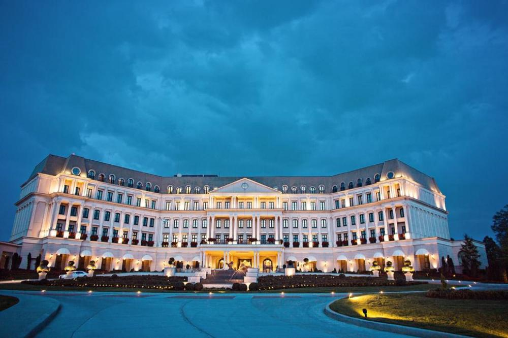 One Night Stay at Nemacolin Woodlands Resort and Tory Burch purse