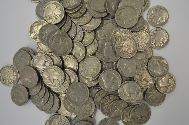 A stampede of full date Buffalo Nickels (1928-1937)