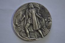 An additional Augustus Saint Gaudens commemorative .999 fine Silver medal