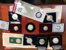 A dozen miscellaneous U.S. Mint Modern Commemorative Coins and Sets