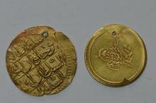 Pair of Unattributed Earlier Ottoman Gold Coins