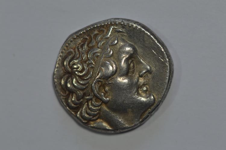 Kings of Egypt. Ptolemy II Philopator (285-246 BC). Silver Tetradrachm