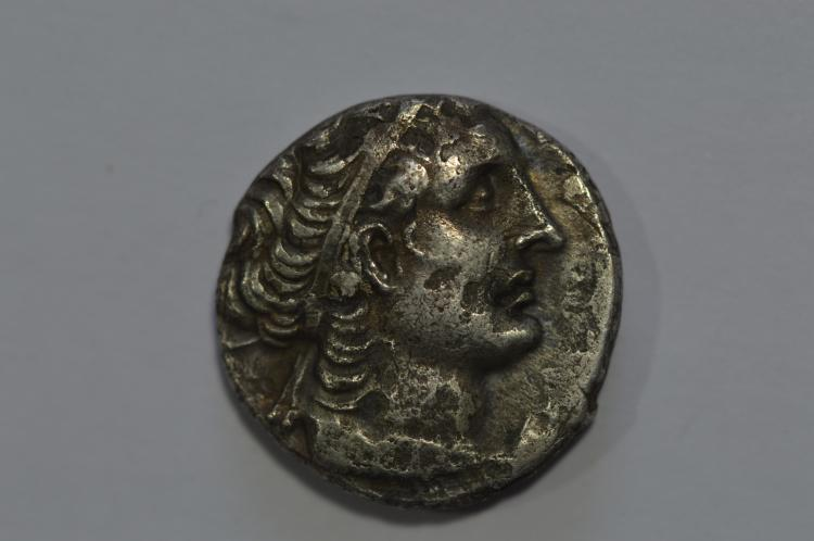 Kings of Egypt. Ptolemy XII Neos Dionysos, restored (55-51 BC). Silver Tetradrachm