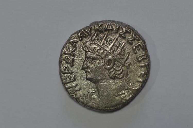 Roman Provincial. Nero (54-68 AD). Billon Tetradrachm of Alexandria.