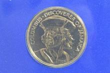 Jamaica 1975 Gold $100 (.2266 oz AGW). Gem Br. Uncirculated