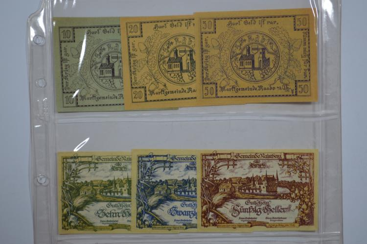 Album of Austrian Notgeld