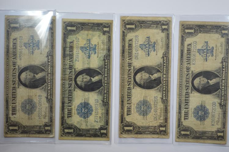 A Series of 1923 Large Size Silver Certificate octet.