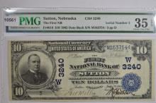 $10.00 Series of 1902 Date Back National Bank Note, Fr-616, Charter #3240