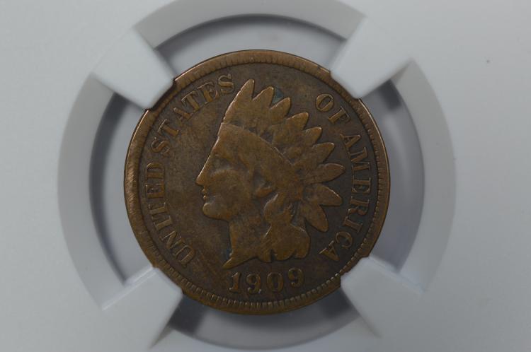1c 1909-S Indian. NGC VG8 BN.
