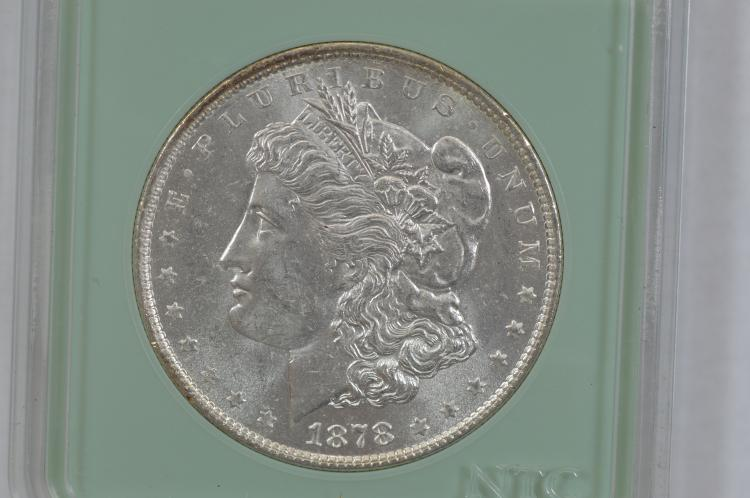$1.00 Silver 1878 7 TF, Rev. of '79