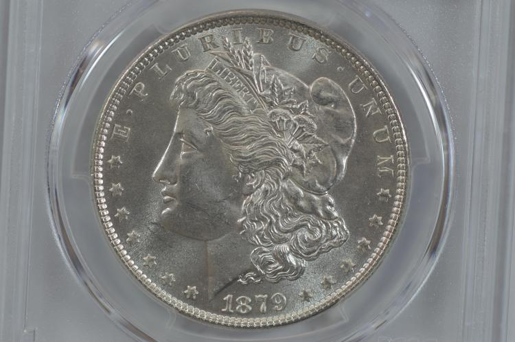 $1.00 Silver 1879 PCGS MS64