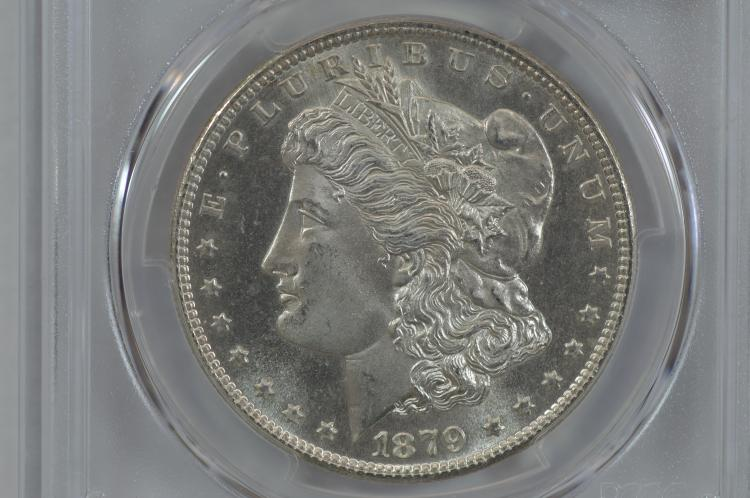 $1.00 Silver 1879-S PCGS MS66+
