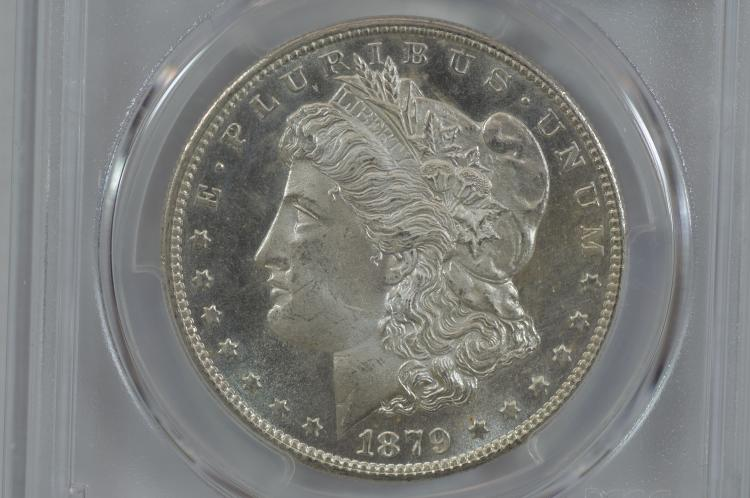 $1.00 Silver 1879-S PCGS MS66