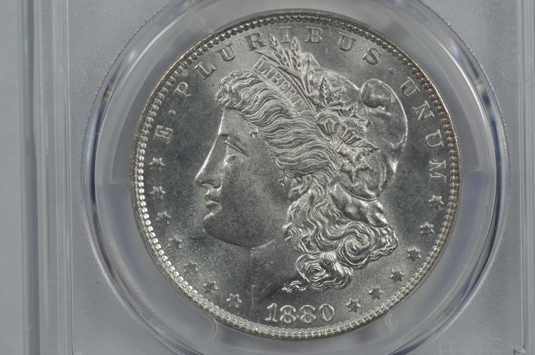 $1.00 Silver 1880 PCGS MS64