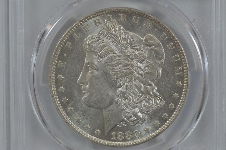 $1.00 Silver 1880-O PCGS MS61