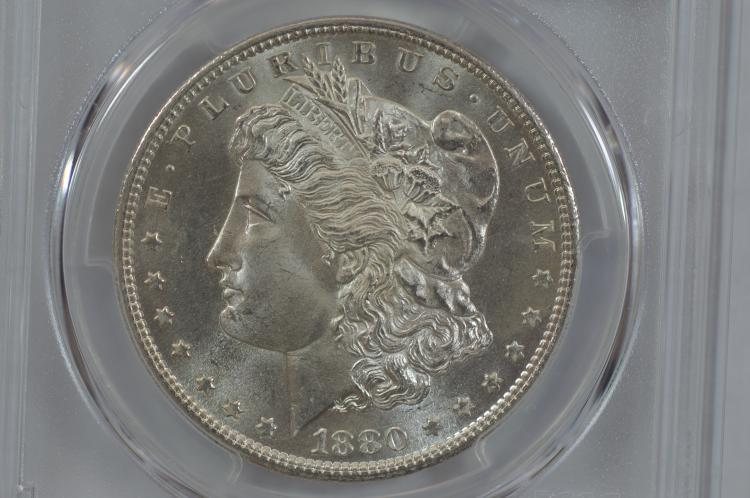 $1.00 Silver 1880-S PCGS MS66