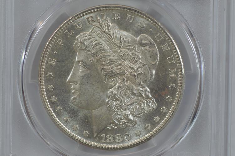 $1.00 Silver 1880-S PCGS MS65