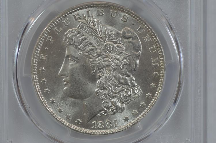 $1.00 Silver 1881 PCGS MS64