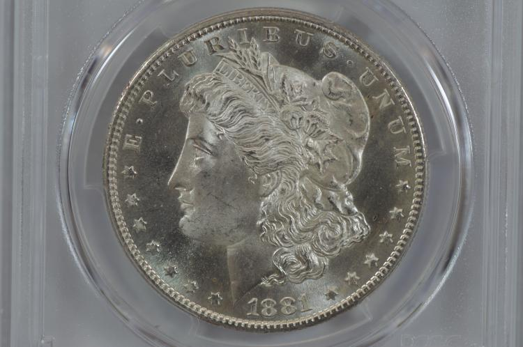$1.00 Silver 1881-S PCGS MS65