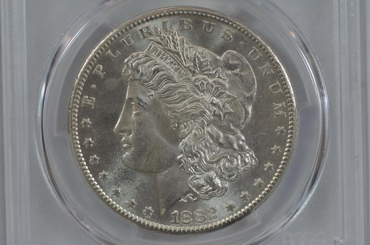$1.00 Silver 1882-S PCGS MS65